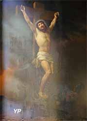 Église Notre-Dame - Christ en croix (Pierre-Louis Delaval, 1856)