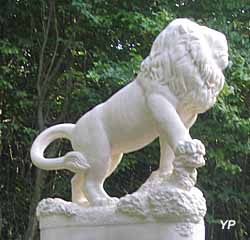 Saillant de Saint-Mihiel - lion Bavarois (monument allemand de 1916) (doc. N. Kugel)