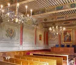 Salle d'audience du Parlement de Dombes (Office de tourisme Trévoux Saône Vallée)