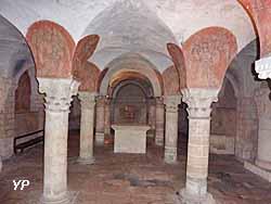 crypte de la cathédrale Notre-Dame de Bayeux