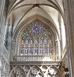 transept de la cathédrale Notre-Dame de Bayeux