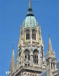tour gothique de la cathédrale Notre-Dame de Bayeux