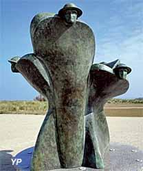 Mémorial Juno Beach - Souvenir et renaissance (sculpteur Colin Gibson)