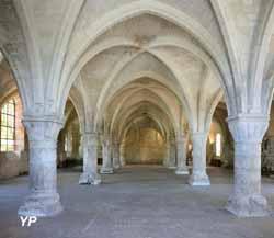 Abbaye de Vaucelles - salle des moines