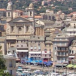 Bastia - église Saint-Jean-Baptiste et vieux port
