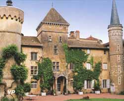 Château de Saint-Point - Lamartine (Office du Tourisme Les Vallons de Lamartine)