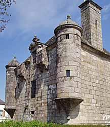 Ancienne prison seigneuriale - Présidial (Mairie de Guerlesquin)