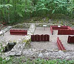 Site Gallo-Romain de l'Ecartelot - habitat, cuisine et dépendences