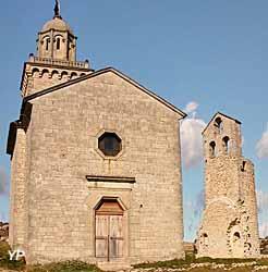 Chapelle Saint-Denis et tour Saint-Pierre (OT Reillanne)