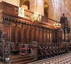 Basilique Saint-Sernin - stalles du choeur