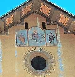 fresque de l'église baroque Notre-Dame-de-l'Assomption de Valloire (17e s.) (doc. OT Valloire)