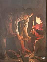 Basilique Saint-Sernin - saint Joseph charpentier (1643, Georges de La Tour)