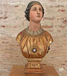 Basilique Saint-Sernin - sainte Agathe