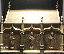 Basilique Saint-Sernin - crypte, chasse de saint Honoré