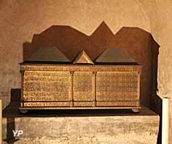 Basilique Saint-Sernin - crypte, chapelle des saints Simon et Jude