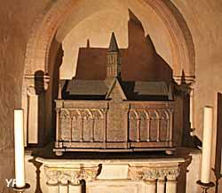 Basilique Saint-Sernin - crypte, chapelle de saint Jacques le Majeur