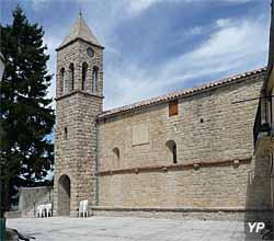 Église romane fortifiée d'Ascros