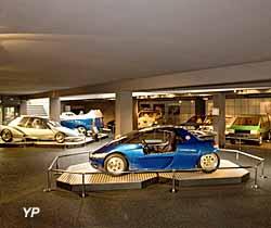 Espace automobiles Matra  - sous-sol