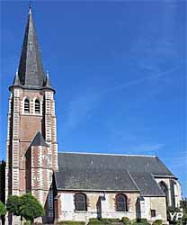 Église Saint-Vaast (Mairie d'Hallennes)