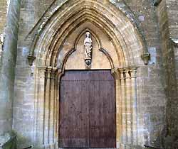 église Sainte-Agathe de Longuyon (XII-XIIIe s.)