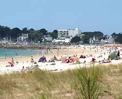 la plage de Carnac
