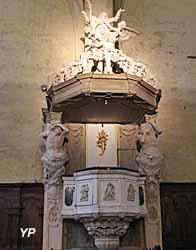 Cathédrale Saint-Etienne - chaire