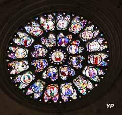 Cathédrale Saint-Etienne - rosace
