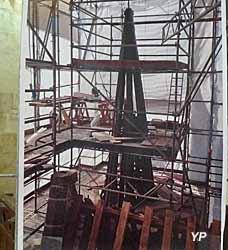Restauration de la tourelle du transept Sud, de sa charpente et toiture