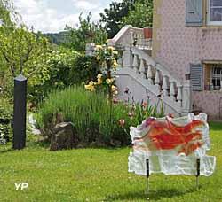 Maison d'Art Bourgogne du Sud et Jardin de Sculptures -  Voile (JF. Ferraton)