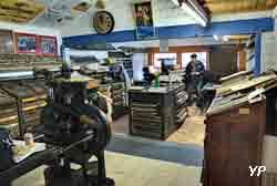 Expotec 103 - atelier d'imprimerie