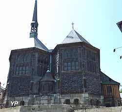 Église Sainte-Catherine à Honfleur