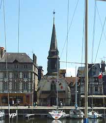 église Saint-Etienne à Honfleur (doc. Yalta Production)