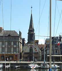 église Saint-Etienne à Honfleur (Yalta Production)