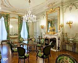Musée Fabre - Salon vert, Hôtel de Cabrières-Sabatier d'Espeyran