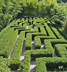 Bambouseraie en Cévennes - labyrinthe