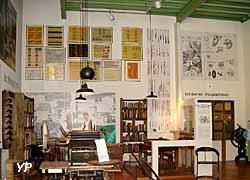 Vue générale de la lithographie