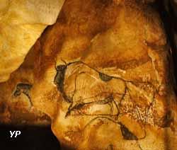 Caverne du Pont d'Arc - parmi les 80 animaux de la fresque des lions