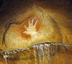 Caverne du Pont d'Arc - la main positive