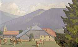 Musée municipal - Paysage comtois (Robert Fernier)