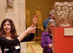 Musée de Cluny - Nuit des Musées 2015 : médiation proposée par les élèves de l'EnsAD
