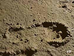Grotte du Pech-Merle - empreinte de pas humain