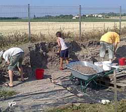 Musée et site gallo-roamins du Fâ - fouilles archéologiques