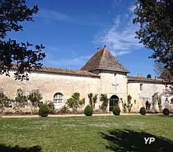 Château d'Abzac - jardin