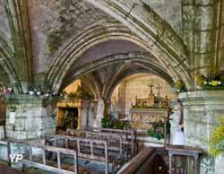 Château de Valmer - chapelle troglodytique