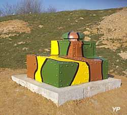 Fort de la Salmagne - tourelle FT17 radio transformée en 1940 en observatoire de campagne