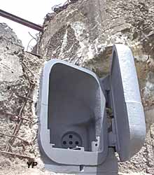 Fort de la Salmagne - coque de projecteur blindé