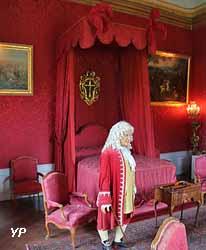 Château de Fléville - chambre du roi Stanislas