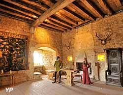 Château de Fléville - salle du Chevalier