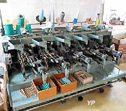 Musée de Tissage - cannetière pour métiers mécaniques