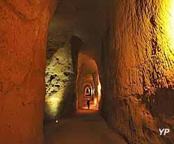 Mines de Bruoux - Grande galerie